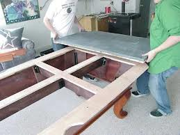 Pool table moves in Battle Creek Michigan