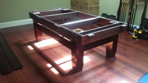 Correctly performing pool table installations, Battle Creek Michigan